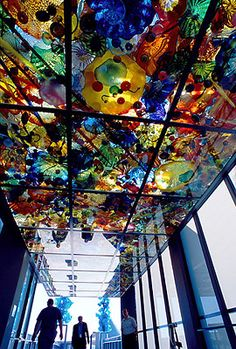 Chihuly Bridge of Glass  How amazing is this?  It's a bucket list must see for those of you that have never seen his work in person.  Pictures do not do it justice.
