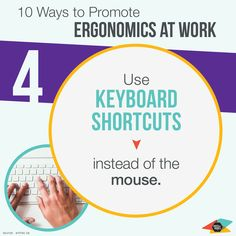 Ergonomics at work. Get some office supplies online! Keyboard Shortcuts, Get Some, Promotion, Office Supplies, Chart