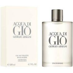 19ef04556 Perfume Acqua di Giò Masculino Giorgio Armani EDT 200ml - Incolor