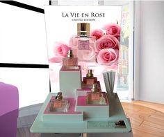 Expositor Collection Rosé L'arome Paris