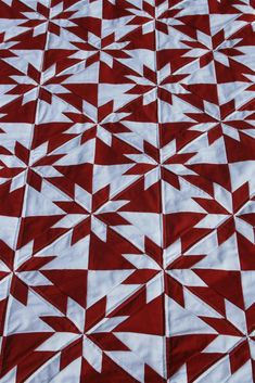 hunter star quilt pattern | ... hunter s star quilt is now complete it s my first red and white quilt