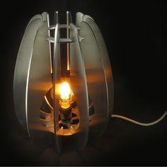 Lampe déco inox Inox brossé abat jour papier Japon artisanal en option  tranches poli miroir en option ampoule Edison led 4,5w H37 x 28cm Modèle déposé Modèle adaptable à  vos mesures sur demande