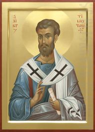 This icon of Holy Apostle Timothy is painted to order by expert icon painters of St Elisabeth Convent. Read a detailed description of the icon in our Catalog Byzantine Icons, Byzantine Art, Pictures To Draw, Art Pictures, Saint Timothy, Paint Icon, Jesus Art, Biblical Art, Orthodox Icons