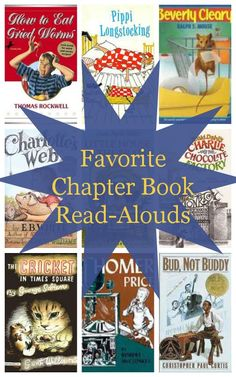 Favorite chapter book read-alouds from growingbookbybook.com