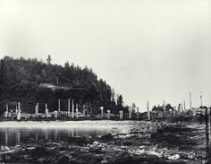 An 1878 photo of the Haida village Skedans, a spot we'll explore on our new Alaska expedition: http://www.expeditions.com/destinations/alaska/haida-gwaii