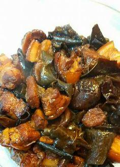 Pork Adobo w/ Black Fungus Mushroom