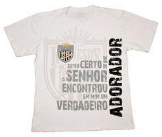 Camiseta Rei Jesus - Grupo de Adoração M - Palavra de Paz Produções