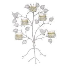 BEAUTIFUL GARDEN SANCTUARY NEST TABLETOP & WALL SCONCE decor decorating home house