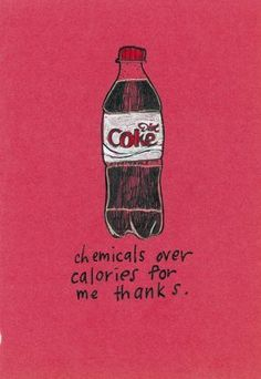 haha @Hannah Pobanz remember when some lady lectured me on diet coke being a pesticide in red apple?!