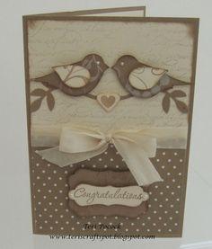 Bird Punch - Wedding Card
