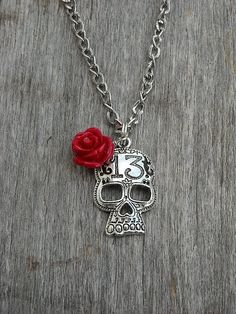 Lucky 13 necklace  @Marissa Munyon-Castaneda