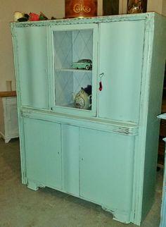 Vintage Schränke - traumhaftes altes Küchenbuffet*Vintage*Shabby* - ein Designerstück von zaubermausHD bei DaWanda