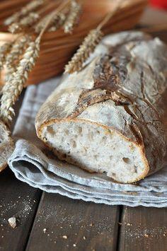 Chleb na zakwasie #thermomix Bread Baking, Cooking, Food, Baguette, Thermomix, Breads, Baking, Kitchen, Essen