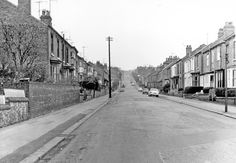 General View of Standon Road (formerly Station Road), Low Wincobank taken from near to the junction with Fife Street (formerly Fowler Street)