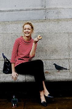 Meet the top that takes the biscuit… Shop with 15% off and free delivery with code PIN1 (UK) or PIN2 (US) #Boden #AW14