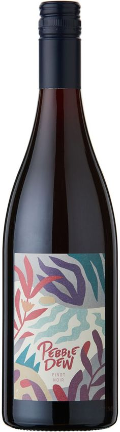 Pebble Dew Pinot Noir   Mitchell and Son Wine - Mitchell and Son Wine Merchants New Zealand Wine, Wine Merchant, Wine Online, Red Berries, Pinot Noir, Red Wine, Bottle, Flask, Jars