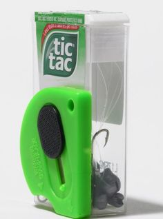 How did I never think of this? I always wanted a pocket-sized tackle box. #KrazyGlue