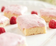 Sugar Cookie Squares with White Chocolate Raspberry Cheesecake ...