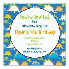 Shop T Rex Dinosaur Birthday Party Invitations created by CustomPrintedInvites. Dinosaur Birthday Invitations, Dinosaur Birthday Party, Birthday Party Games, Birthday Invitation Templates, 5th Birthday, Birthday Celebration, T Rex, Prehistoric, Invites