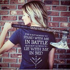 If he is not worth to stand with me in battle he is not worthy to lie with me in bed. Asatru, Viking Woman, Viking Life, Norse Vikings, Vikings Lagertha, Wicca, Life Quotes, Words Quotes, Quotes To Live By