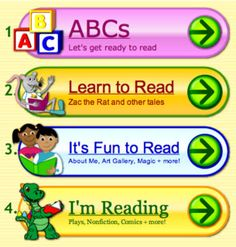 Free online educational games for PreK-8.