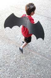 Preschool Halloween Activities: Make Spooky Bat Wings