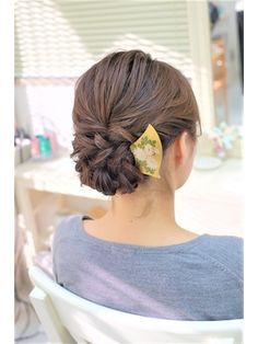 和装にもおすすめの下めアップ - 24時間いつでもWEB予約OK!ヘアスタイル10万点以上掲載!お気に入りの髪型、人気のヘアスタイルを探すならKirei Style[キレイスタイル]で。