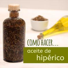 Paso a paso con vídeo tutorial en el que os enseñamos cómo hacer aceite de hipérico, un aceite utilizado en medicina tradicional que sirve para infinidad de cosas.