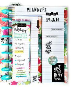 storage case organization & bullet journalling w/ new stamps in The Happy Planner™ of mambi Design Team member Casie Gutierrez | me & my BIG ideas