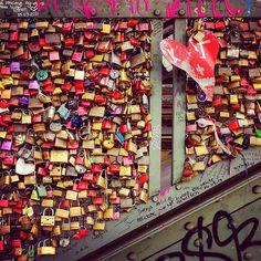 Locks in Cologne, Germany. #köln #cologne #germany #travel #timelapse #timelapsephotography #lock #filmmaking www.albertoexposito.net Time Lapse Photography, Cologne, Filmmaking, Germany, Symbols, Photos, Cinema, Pictures, Deutsch