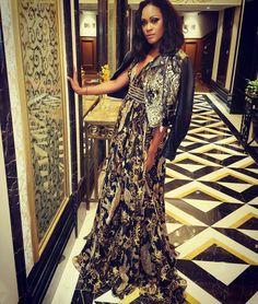 Shontelle dressed in Philipp Plein SS 2017 #philippplein #shontelle #faShon #pleingirls