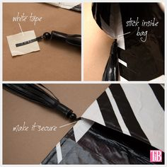 DIY Duct tape clutch! this is pretty revolutionary!