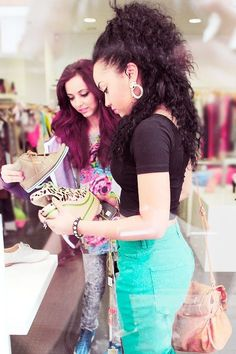 Jade and Leigh-Anne. Listening to change your life as I'm pinning this :)