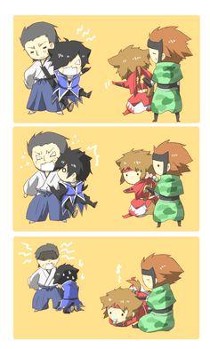 Tags: Anime, Sengoku Basara, Date Masamune (Sengoku Basara), Sanada Yukimura (Sengoku Basara), Capcom