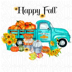 Halloween Signs, Fall Halloween, Halloween Quilts, Antique Trucks, Vintage Trucks, Pumpkin Door Hanger, Fall Door Hangers, Truck Design, Happy Fall