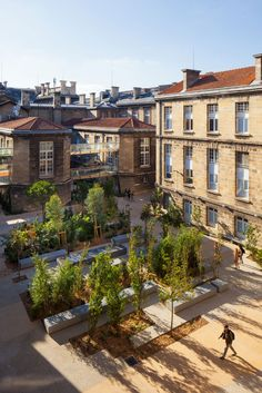 Cour Leyteire in Bordeaux, France by Debarre Duplantiers Associes