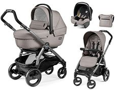 Best price on Peg Perego Trio Travel System Book 51 Jet Mood Beige 2016 See…