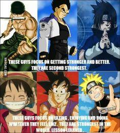Don't try so hard, just do what you love for the people you love, because anime. Naruto, Dragon Ball Z, One Piece I Love Anime, All Anime, Anime Stuff, Naruto Uzumaki, Anime Naruto, Boruto, Sasuke, Funny Naruto Memes, Funny Memes