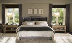 The Holiday - Cameron Diaz's character Amanda's house 6 Movie Bedroom, Bedroom Sets, Master Bedroom, Gray Bedroom, Bedroom Colors, Bedroom Styles, Earthy Bedroom, Bedroom Modern, Bedroom Designs