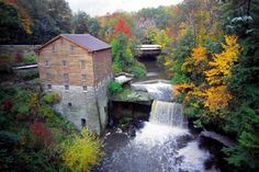 PANICd : Paranormal Information : At the end of the 18th century the land surrounding a beautiful, natural waterfall, now known as Lanterman's Falls, belonged to John Young, founder of Youngstown. In August 1797 Young's surveyors, Isaac Powers and Phineas Hill, set out to explore the then