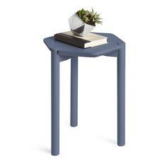 Umbra - Hexa Side Table - Mist Blue