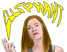 "Check out new work on my @Behance portfolio: ""Elliphant Portrait"" http://be.net/gallery/44444459/Elliphant-Portrait"