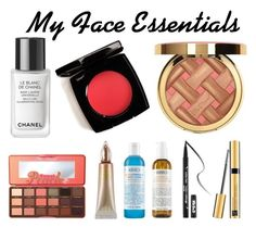 """""""My Face Essentials"""" by pwned-hurley on Polyvore featuring beauté, Chanel, Kat Von D, Urban Decay, Estée Lauder, Kiehl's et Too Faced Cosmetics"""