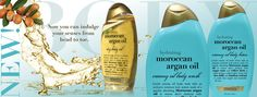 Moroccan Argan Oil lotion, body wash and body oil!!! Like it.