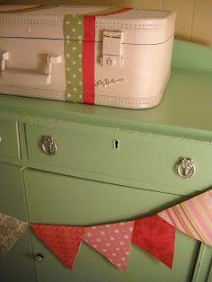 Embracing Change: Vintage Suitcase Makeover