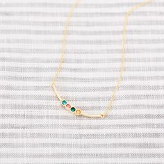Share your story with our Gold Curved Bar Birthstone Necklace. Available in 1-6 birthstones of your choice.  #jewelry #birthstone #necklace Infinity Necklace, Bar Necklace, Latest Jewellery Trends, Stone Gold, Monogram Necklace, Gifts For New Moms, Birthstone Necklace, Silver Bars, Personalized Jewelry