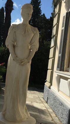 Keizerin Sissy, paleis op Corfu. Vak 2016