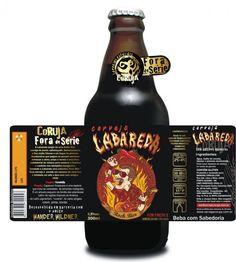 Cerveja Coruja Labareda - Cervejaria Coruja