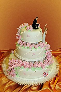 Hochzeitstorte 3 Etagen