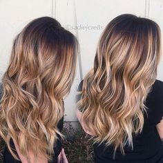 Bronde balayage beauty. Color by @sadiejcre8s  #hair #hairenvy #haircolor #brunette #bronde #balayage #highlights #newandnow #inspiration #maneinterest